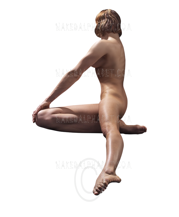 The Number 2 from the Naked Alphabet.