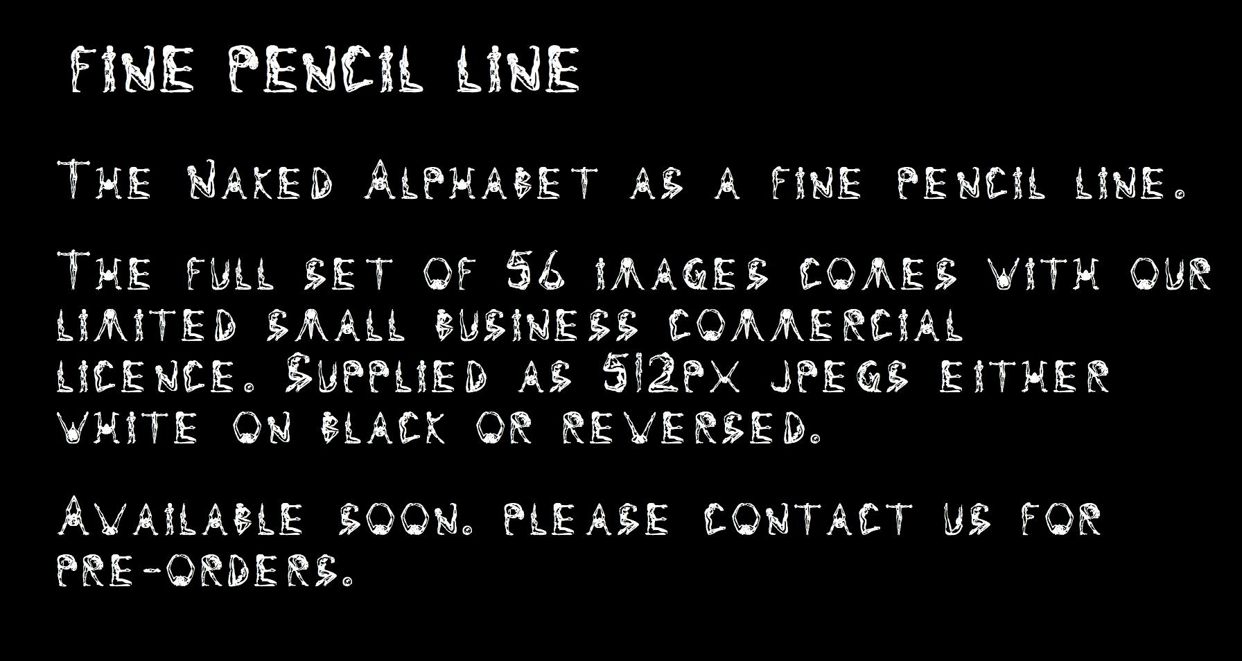 fine-pencil-line-text